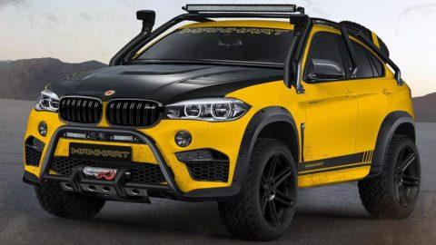 MANHART MHX6 Dirt2 – BMW X6 M transformat în off-roader radical