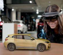 VIDEO: Romania – singura ţară din regiune care găzduieşte BMW X2 Holo Experience Tour, o prezentare holografică a noului model