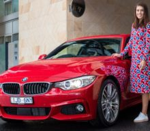 Sorana Cîrstea petrece ultimele zile înainte de Australian Open cu BMW Seria 4