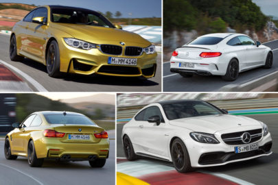 BMW M4 Coupe vs Mercedes-AMG C 63 Coupe