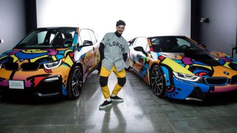 BMW i, partener oficial al Festivalului de Muzică şi Artă Coachella Valley 2018. John Gourley de la Portugal. The Man creează designul exclusiv al automobilelor pentru flota BMW i Coachella electrificată