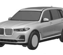Pozele de patentare ale lui BMW X7 ne confirmă designul de serie
