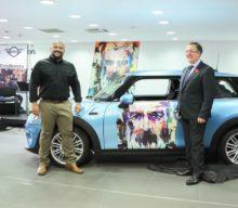 MINI Auto Cobălcescu – cel mai nou dealer MINI – se lansează cu un proiect de artă semnat Amirou Diallo