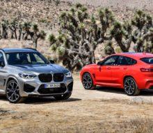 BMW X3 M și BMW X4 M debutează inclusiv în variantă Competition