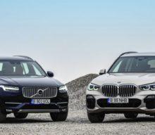 Test Drive: BMW X5 xDrive30d vs. Volvo XC90 D5 AWD: Tur de forță