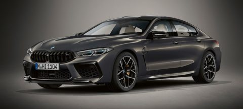BMW M8 Competition Gran Coupe - BMW Individual Aurora Dravit Gray