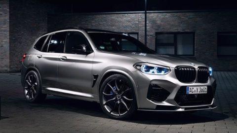 """BMW X3 M Competition descătușează 600 CP cu """"suplimentele sportive"""" date de AC Schnitzer"""
