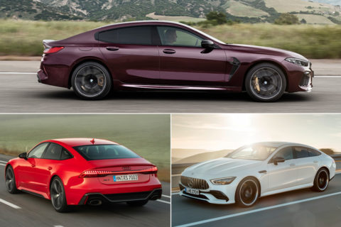 BMW M8 Gran Coupe vs concurența