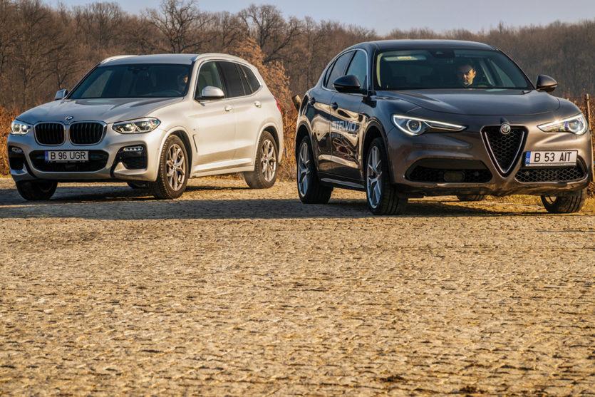 BMW X3 vs Alfa Romeo Stelvio