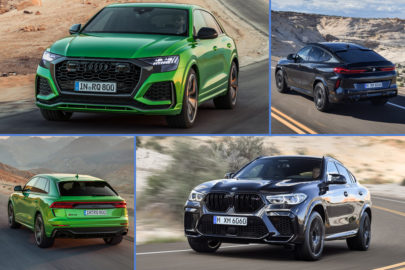 BMW X6 M vs Audi RS Q8