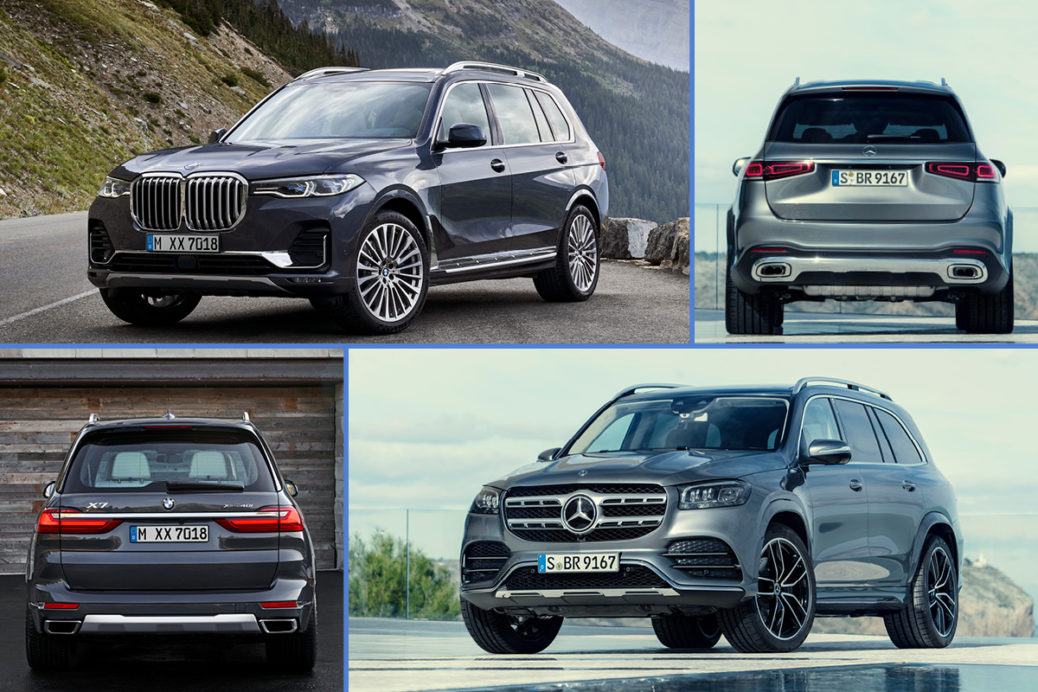 BMW X7 vs Mercedes-Benz GLS