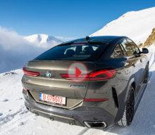 [VIDEO] Test BMW X6 M50d: patru turbine în vârf de munte