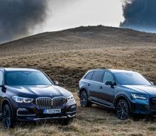 [VIDEO] Noul Audi Q7 vs BMW X5: 50 TDI quattro vs xDrive30d