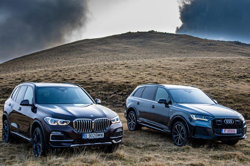 Noul Audi Q7 vs BMW X5