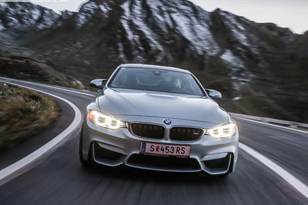 Test cu BMW M4