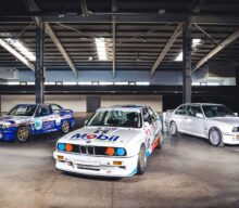 VIDEO: Trio de modele BMW M3 E30 licitat de Silverstone Auctions