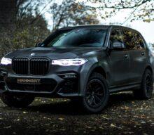 MHX7 650 Dirt Edition: BMW X7 a fost transformat într-un off-roader radical