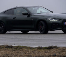 [VIDEO] Noul BMW M440i la primul drift din an