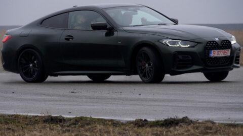 [VIDEO] Noul BMW M440i la primul drift din an