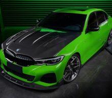 DarwinPRO Aerodynamics îi oferă lui BMW Seria 3 o transformare în stil Hulk