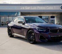 Născut în Mexic: primul exemplar BMW Seria 2 Coupé a fost produs la San Luis Potosi