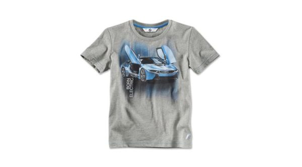 BMW i T-Shirt with i8 Print, kids.