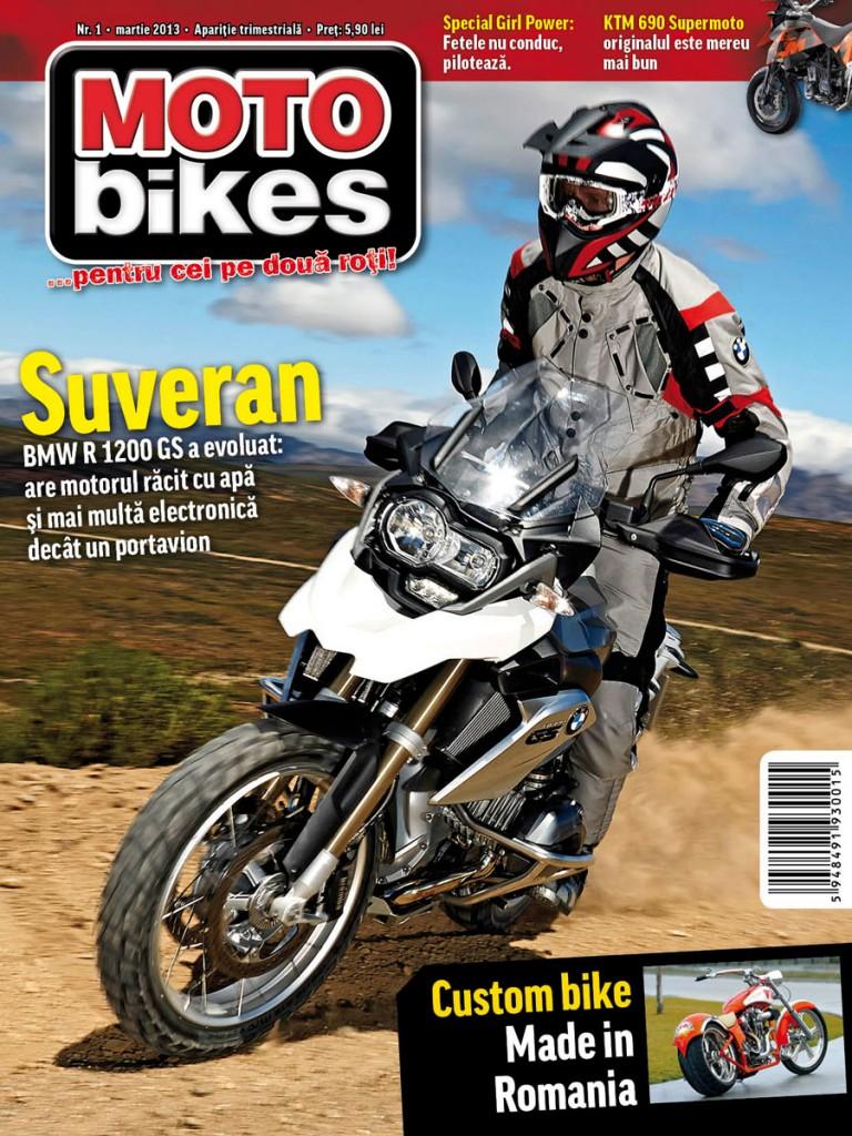 Primul numar al revistei Motobikes, in Inmedio incepand de marti, 26 martie!