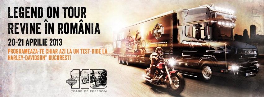 Testeaza ultimele modele Harley-Davidson in acest weekend