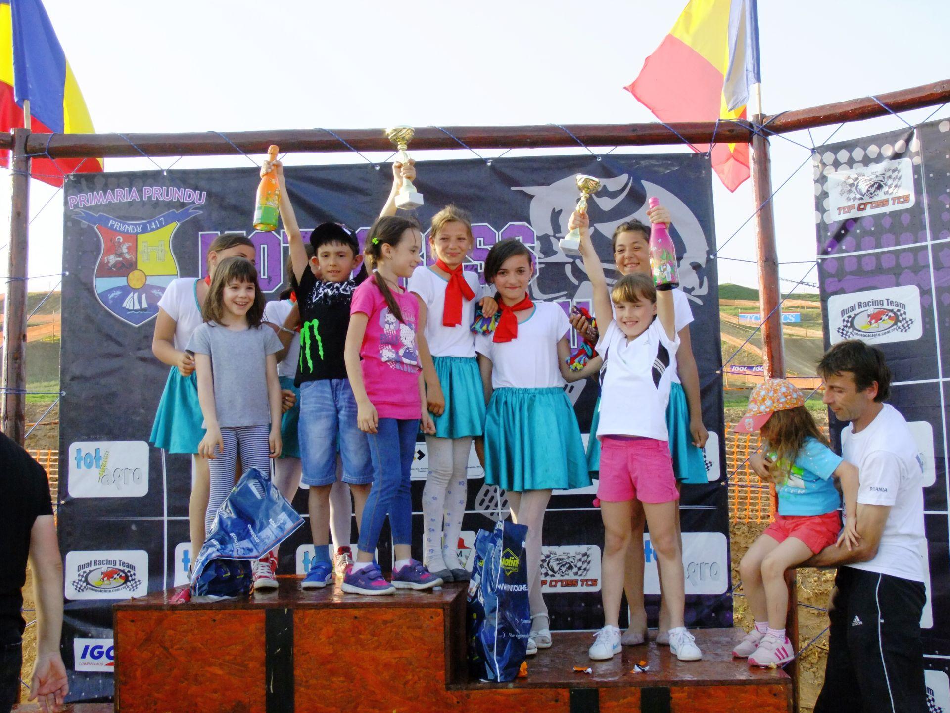 podium copii clasa mx 50