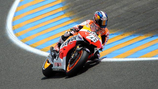 MotoGP: Dani Pedrosa castiga Marele Premiu al Frantei