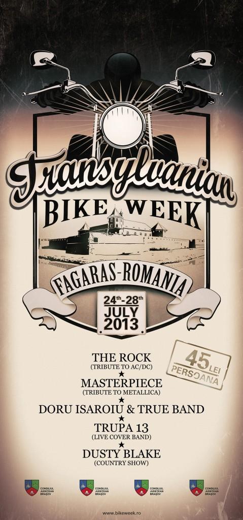 A ramas mai putin de o saptamana pana la inceputul Transylvanian Bike Week, la Fagaras!