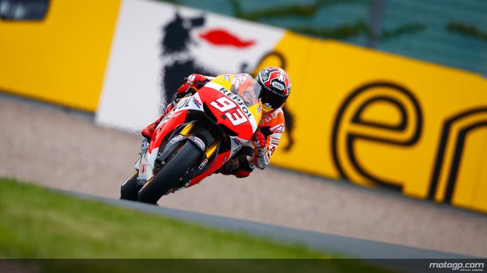 Marquez castiga cursa de MotoGP de pe Sachsenring
