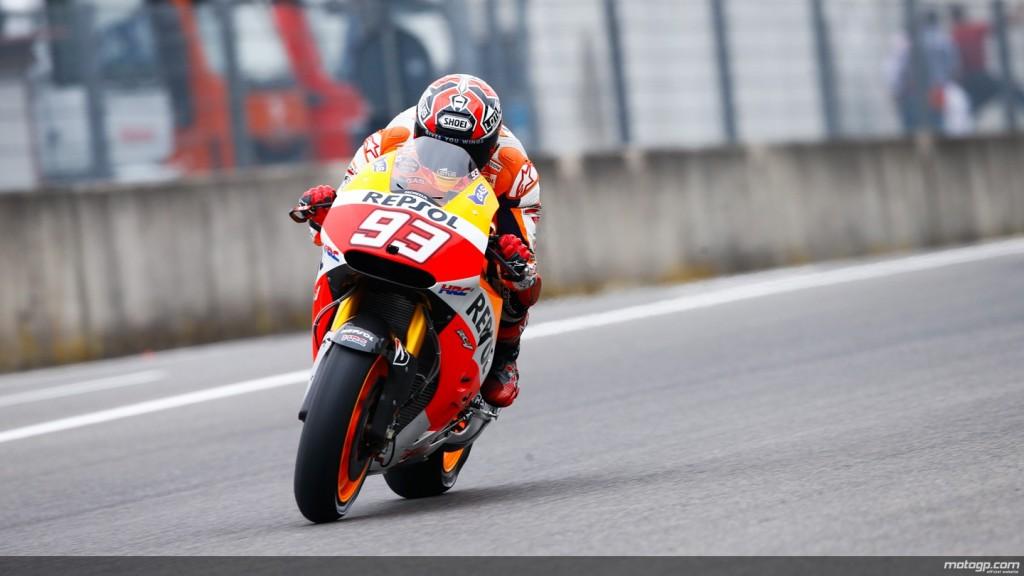 Marsul triumfal al lui Marquez continua! Pole-position acasa la Rossi!