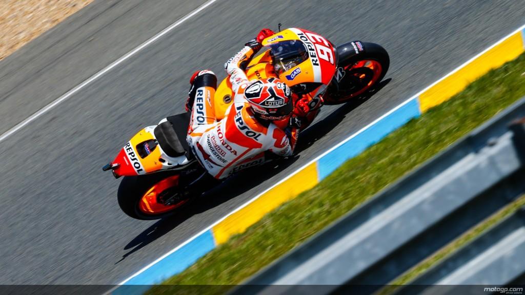 Marquez, cel mai rapid in antrenamentele de la Le Mans. Iannone pe doi.