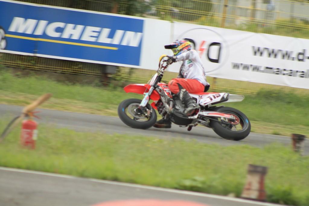 Mauno Hermunen pleaca din pole-position in Marele Premiu al Romaniei la Supermoto