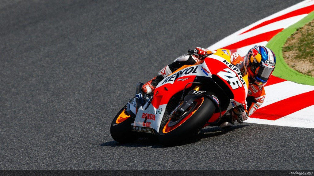 Pedrosa in pole-position la Barcelona. Marquez cade la finalul calificarilor