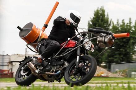 Primele imagini cu Ducati Scrambler in teste!