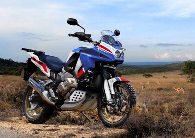Iata cum ar putea arata noua Honda Africa Twin