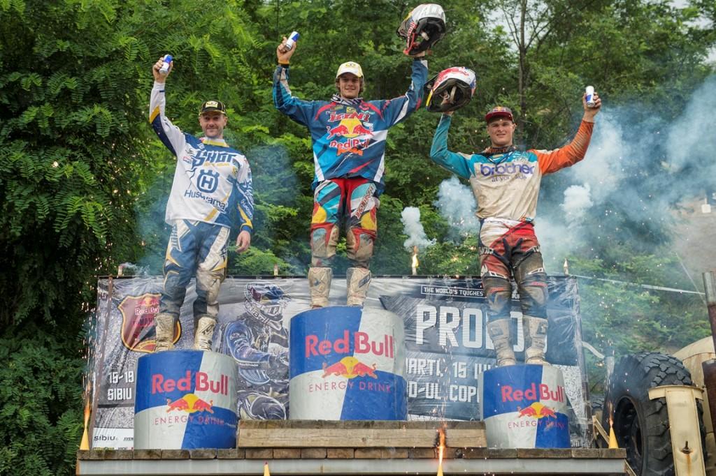 Jonny Walker, victorios la Red Bull Romaniacs