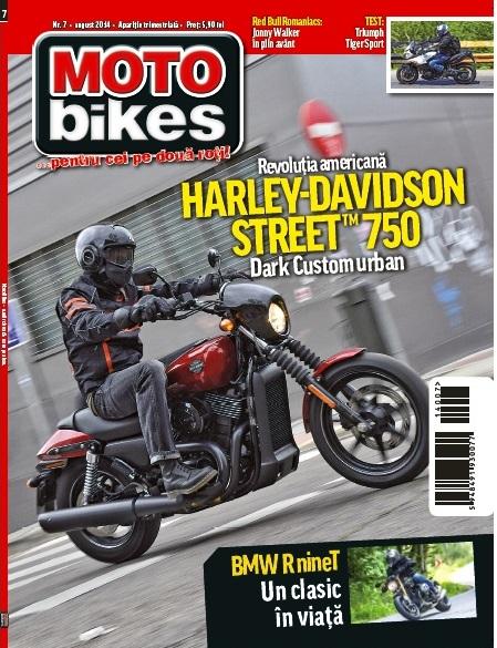 Numarul 7 al revistei MotoBikes este disponibil in Inmedio