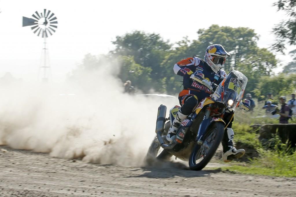 Sam Sunderland este cel mai rapid in prima etapa de Dakar. Mani Gyenes pe 47.