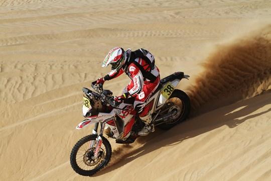 Raliul DAKAR: Rider italian arestat in Chile pentru pagube aduse unui sit arheologic
