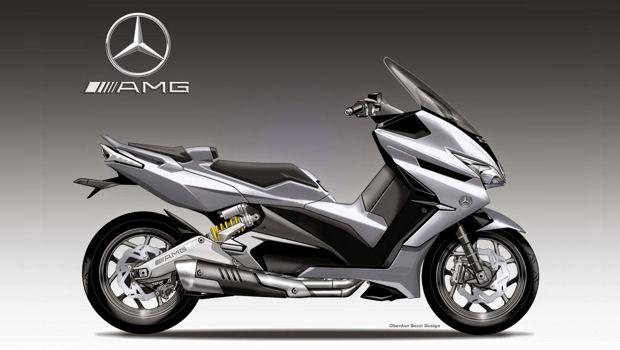 AMG XTR-1: un posibil maxiscuter de la Mercedes?