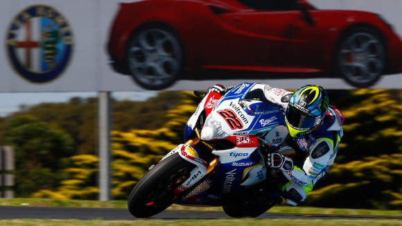 WSBK Phillip Island, ziua 1: Lowes cel mai rapid, Bayliss pe 18