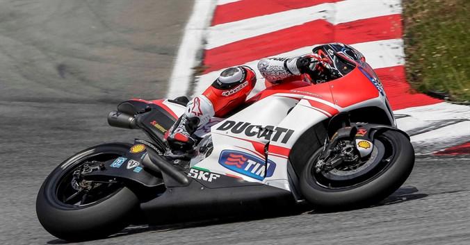 Euforie in echipa Ducati: