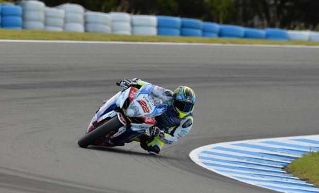 Alex Lowes e cel mai rapid in prima zi de teste WSBK la Phillip Island