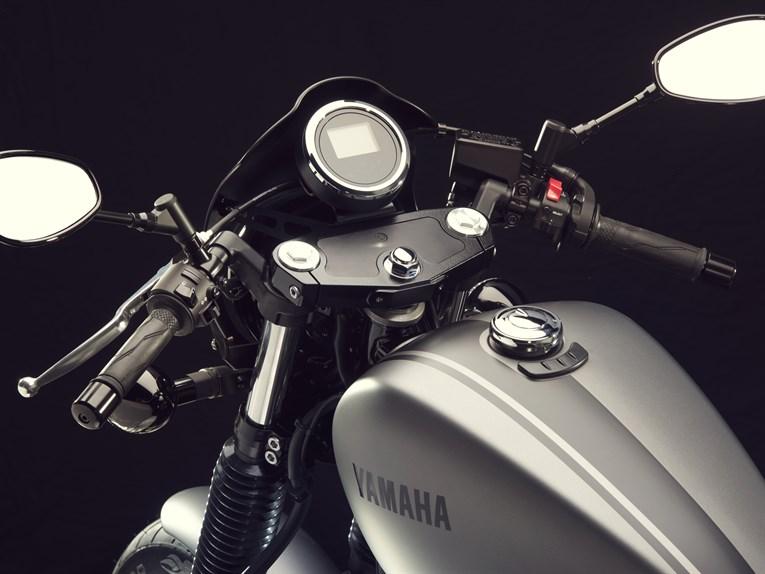 Yamaha XV950 Racer: custom din fabrica