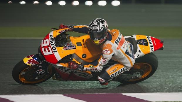 Marquez domina in antrenamentele libere din Qatar