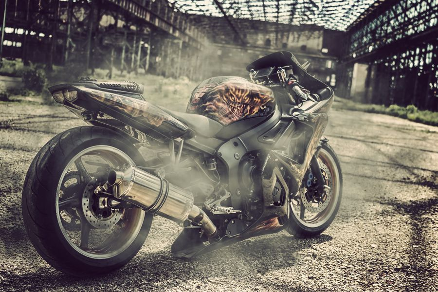 Custom Yamaha R6: Nesfanta creatie