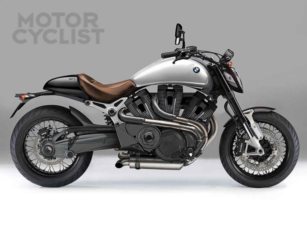BMW patenteaza un motor W3 de cruiser